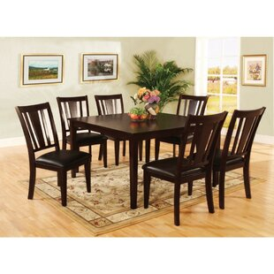 Moody Transitional Counter Height 7 Piece Pub Table Set Winston Porter