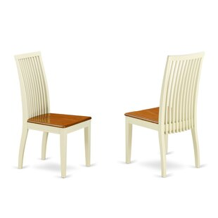 Gladney Solid Wood Dining Chair (Set of 2) Charlton Home