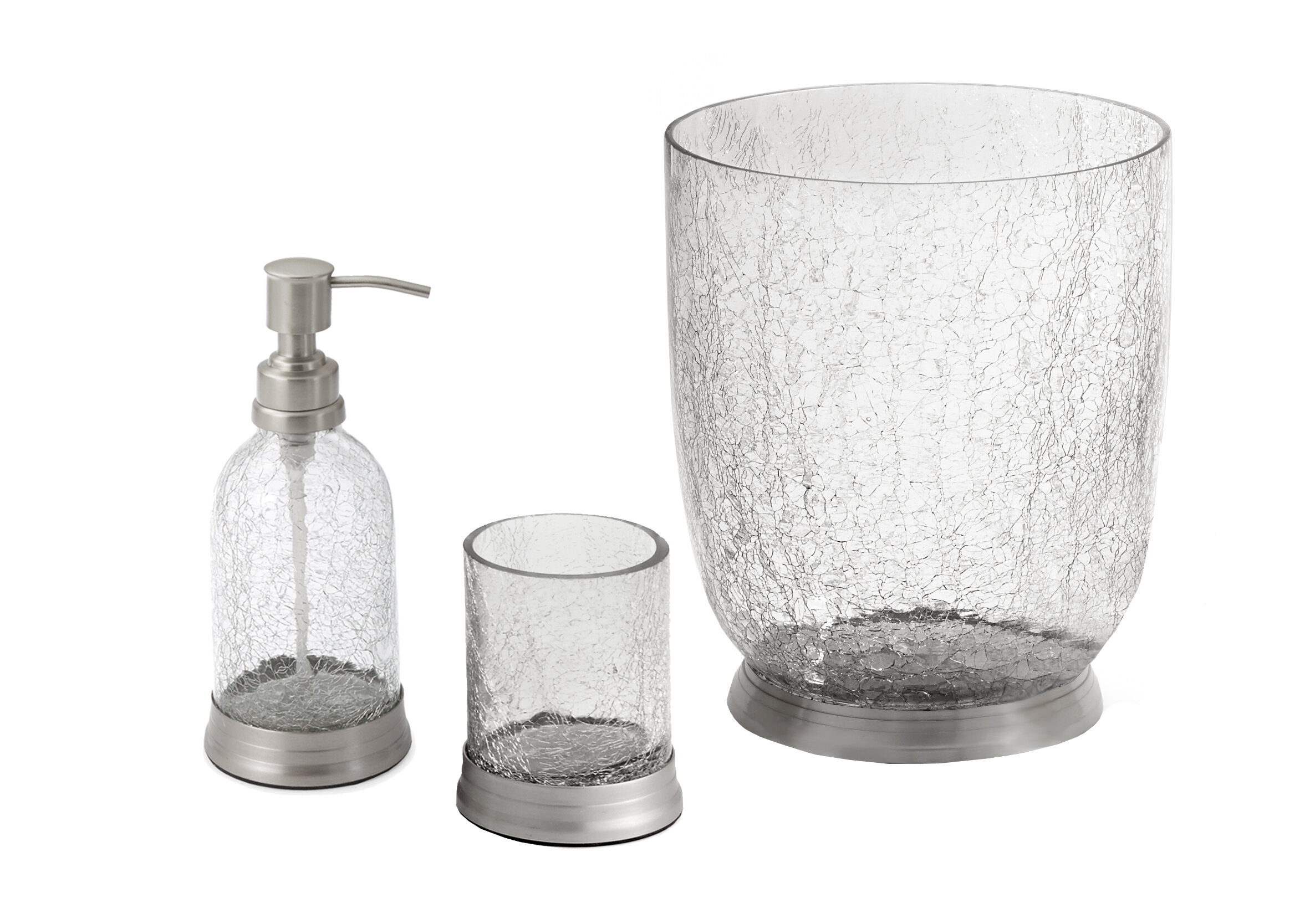Paradigm Trends Heirloom 3-Piece Bathroom Accessory Set | Wayfair