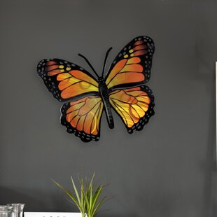 Stadtfeld Butterfly Monarch 3d Wall Decor