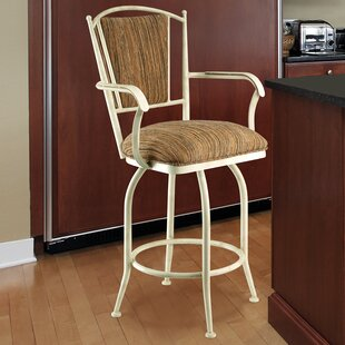 Martinez-Wilson 26 Swivel Bar Stool by Red Barrel Studio