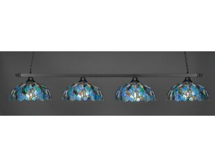 Alameda 4-Light Billiard Pendant by Red Barrel Studio