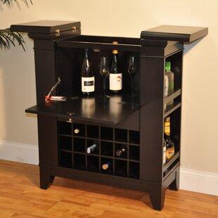 Gianna Spirit Bar with Wine Storage by ECI Furniture