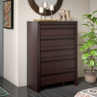 Read Reviews Aries 5 Standard Chest With Mirror by Mistana