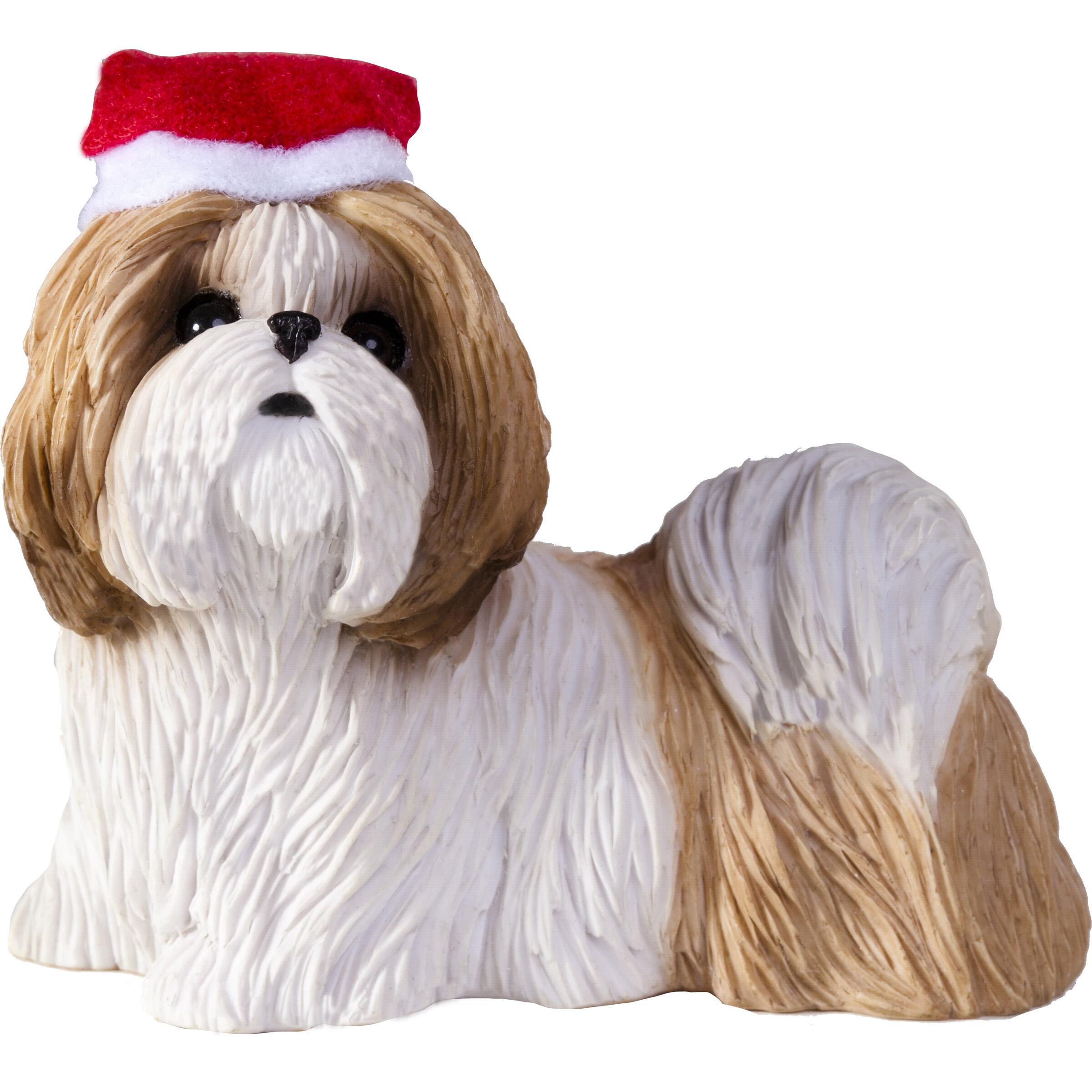 Sandicast Shih Tzu Christmas Tree Ornament & Reviews | Wayfair
