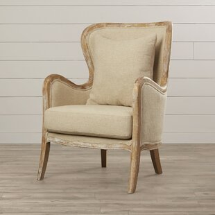 Gazon Wingback Chair by Lark Manor Cheap