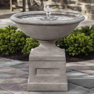 Campania International Concrete Aurelia Fountain