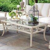 Misty Garden Glass Coffee Table