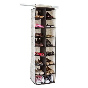 Searching for Burris Geo 16 Pair Hanging Shoe Organizer By Rebrilliant