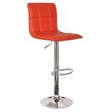 Joseph Adjustable Height Swivel Bar Stool (Set of 2) by Wrought Studio™