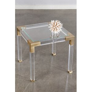 Lucia End Table by Statements by J