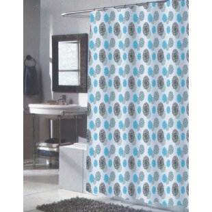 Reviews Isabella Shower Curtain By Carnation Home Fashions