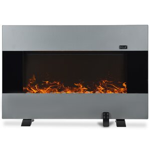 1500W Wall Mount Electric Fireplace by Della