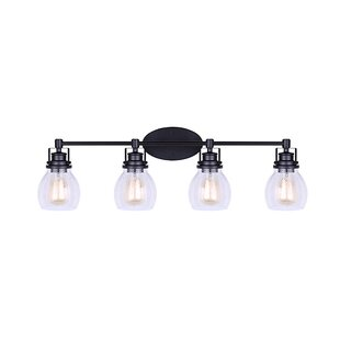 Affordable Price Wilhelm 4-Light Vanity Light By Breakwater Bay