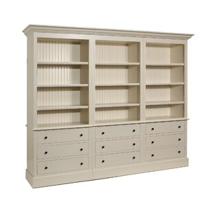A&E Wood Designs French Restoration Kingston Oversized Set Bookcase