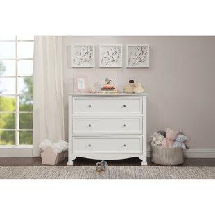Kalani 3 Drawer Standard Dresser byDaVinci