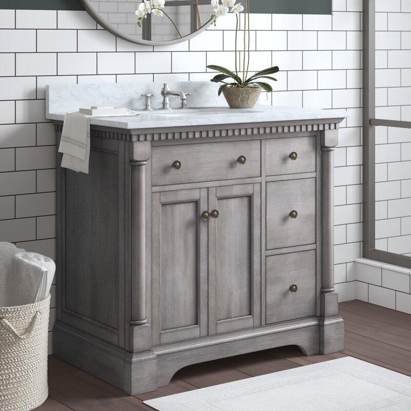 Seadrift 37 Quot Single Bathroom Vanity Set Amp Reviews Joss