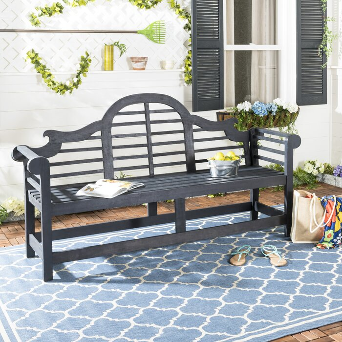 Excellent Ziemer Wooden Garden Bench Pabps2019 Chair Design Images Pabps2019Com