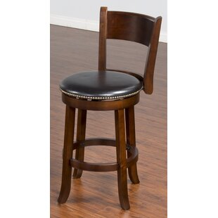 Cappuccino 24 Swivel Bar Stool Sunny Designs
