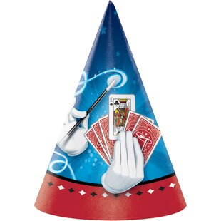 Magic Hat Paper Disposable Party Favor (Set of 24)