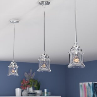 Zipcode Design Kline 1-Light Bell Pendant
