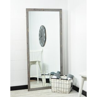 Compare prices Searfoss Soft Shimmer Full Length Mirror By Brayden Studio