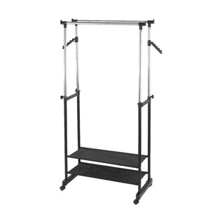 Mellor 169cm Wide Clothes Rail By Rebrilliant