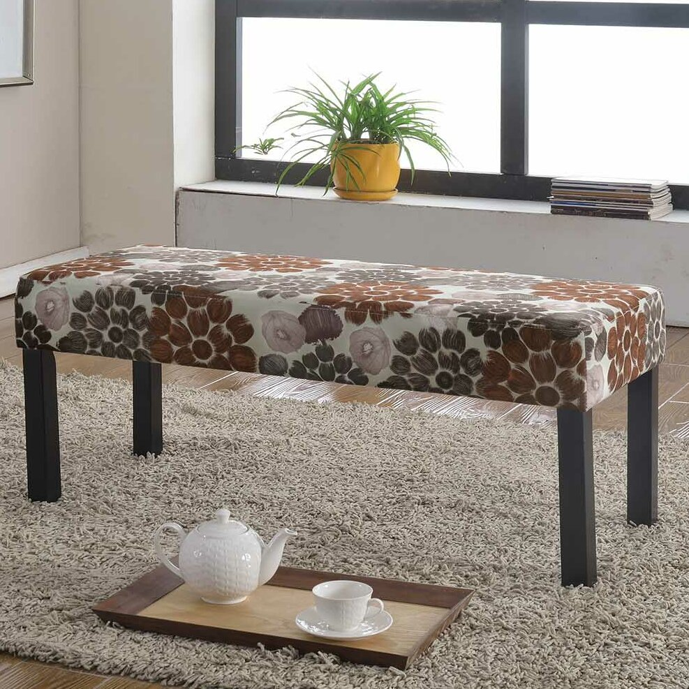 High Quality Container Upholstered Decorative Bench U0026 Reviews   Wayfair