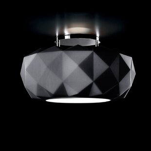 Deluxe 1-Light Semi Flush Mount by Leucos