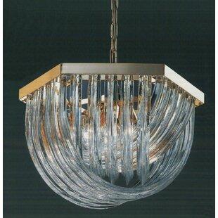 Classic Lighting Murano 6-Light Novelty Chandelier