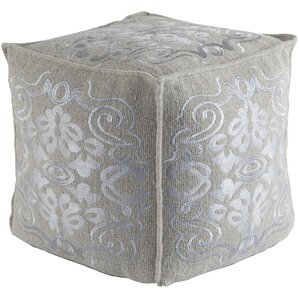 Baston Pouf Ottoman by Astoria Grand