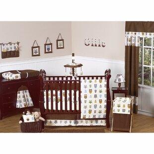 Shop For Night Owl 9 Piece Crib Bedding Set BySweet Jojo Designs