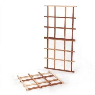 All Things Cedar Garden Wood Lattice Panel Trellis