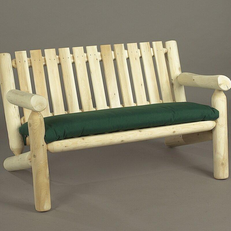 Outdoor Indoor Cedar Rocking Chair Loveseat