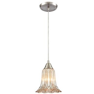 Selph 1-Light Bell Pendant by Gracie Oaks