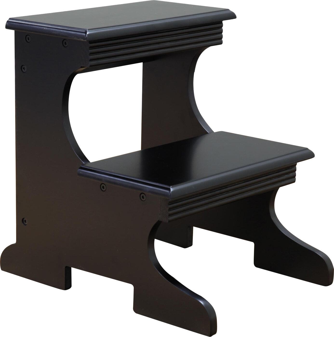 Mega Home 2 Step Wood Stool Reviews