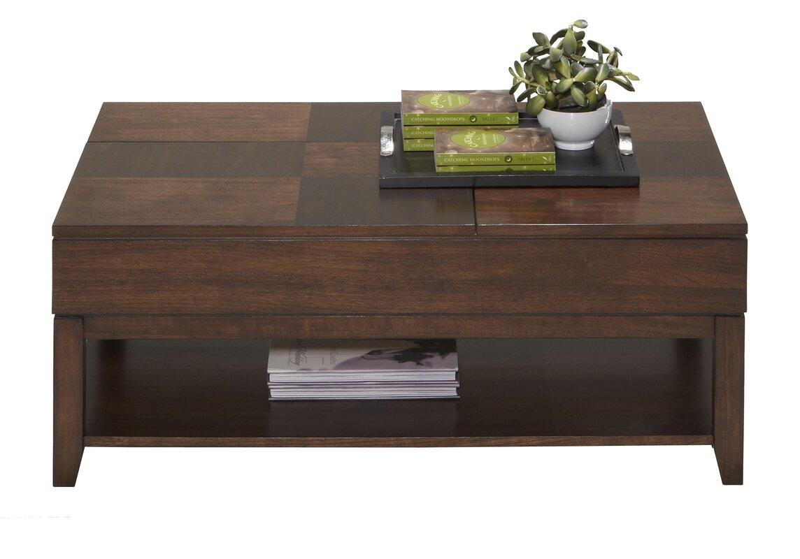 Superb Progressive Furniture Daytona Coffee Table With Double Lift Top U0026 Reviews    Wayfair