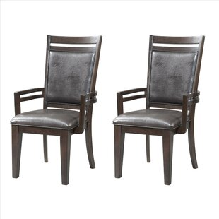 Iron City Arm Chair (Set of 2) by Red Barrel Studio