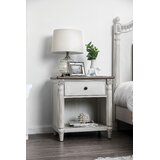 Elzada 1 Drawer Nighstand by Rosecliff Heights