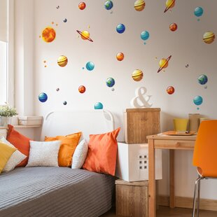 Orange Wall Decals Orange Blue Decal Wall Art Koala Removable Decal Orange Red Nursery Fabric Wall Decal Red Blue Wall Art C016 D15