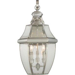 Mellen 3-Light Incandescent Outdoor Wall Lantern by Three Posts