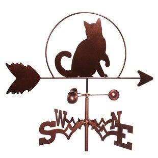 Cat Kitten Weathervane By SWEN Products