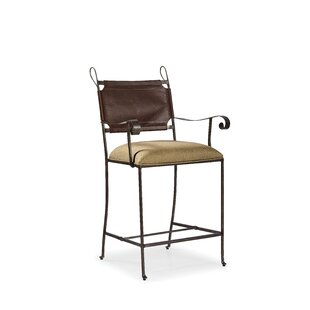 Peaslee Counter Bar Stool by Red Barrel S..