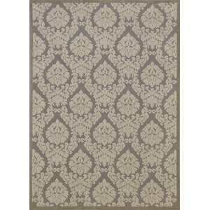 Weissport Silver & Ivory Area Rug