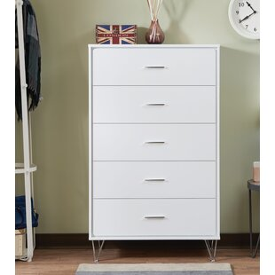 Handover Contemporary 5 Drawer Chest