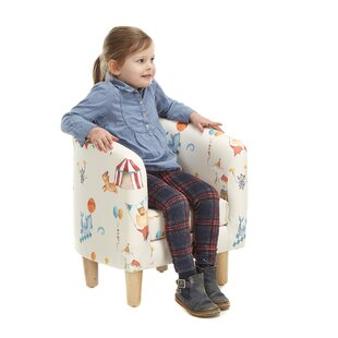 Fikes Animal Camp Circus Children's Club Chair By Zoomie Kids