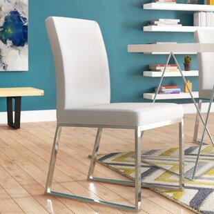 Orren Ellis Woodard Parsons Chair (Set of 2)