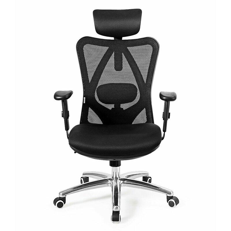 Ebern Designs High Back Mesh Office Chair Adjustable
