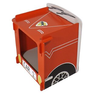 Zariah Racing Car Bedside Table By Harriet Bee