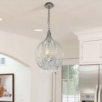 Mistana Aurelia 3-Light Globe Chandelier